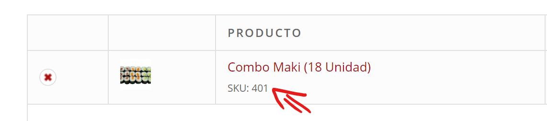 WooCommerce 购物车页面添加显示SKU代码